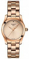 Tissot T-Wave Rose Gold PVD Bracelet Cream Dial T112.210.33.451.00