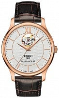 Tissot Tradition Powermatic 80 Open-Heart PVD T063.907.36.038.00