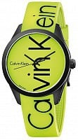 Calvin Klein Unisex Color Black and Yellow K5E51TFY