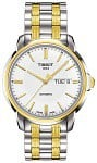 Tissot Automatics III Day-Date Yellow Gold PVD T065.430.22.031.00
