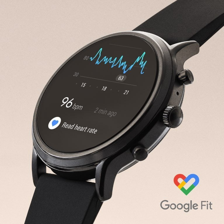 Fossil Carlyle FTW Google Fit